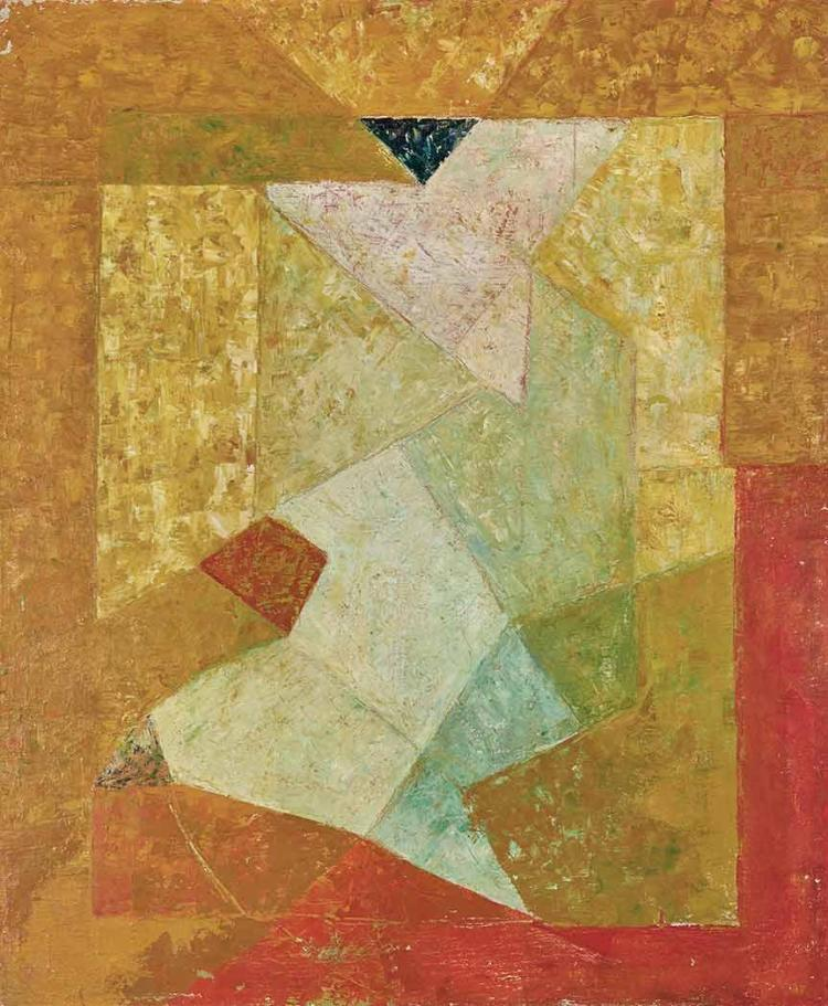 Joseph Lacasse Belgian, 1894-1975 Untitled, 1948