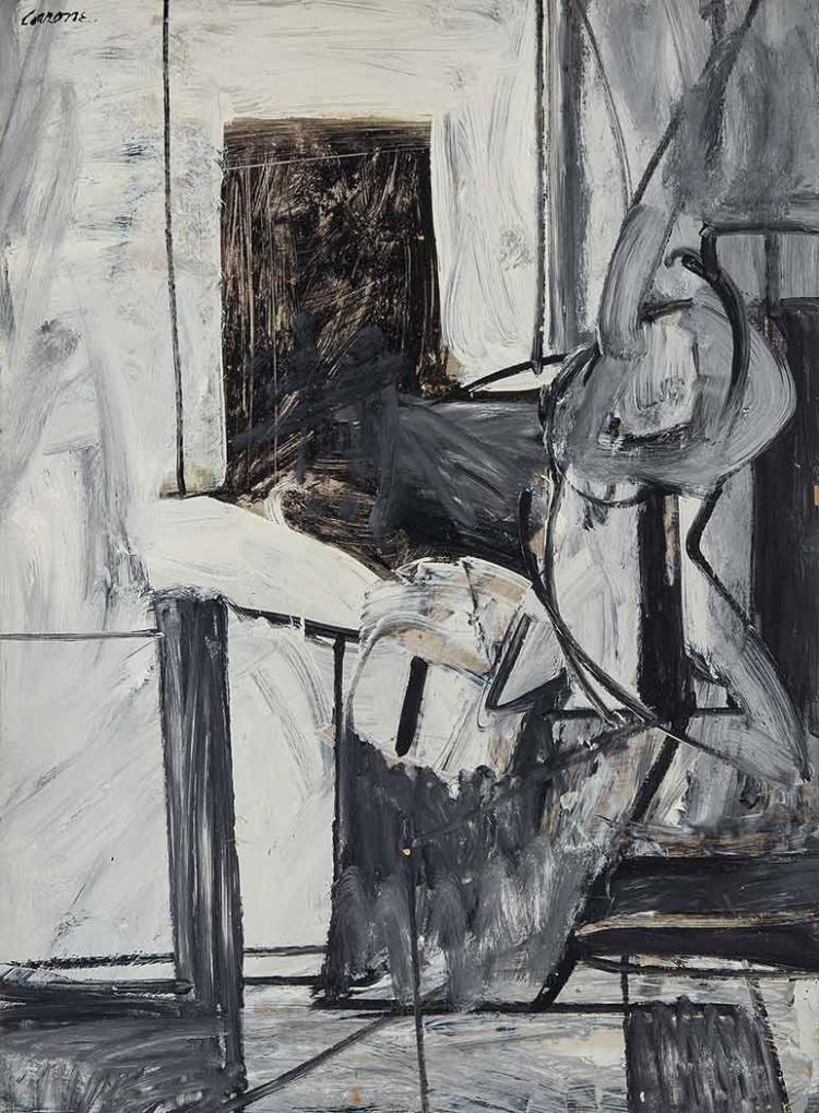 Nicolas Carone American, 1917-2010 Untitled, circa 1955