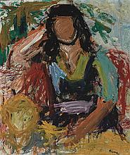 Larry Rivers American, 1923-2002 Untitled (Seated Figure)