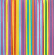 Gene Davis American, 1920-1985 Popsicle, 1969
