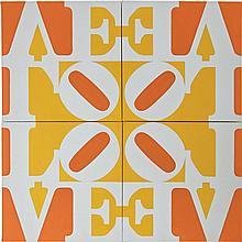 Robert Indiana American, b. 1928 Aspen LOVE, 1968