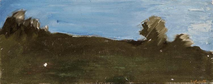 Robert Colescott American, 1925-2009 Skyline