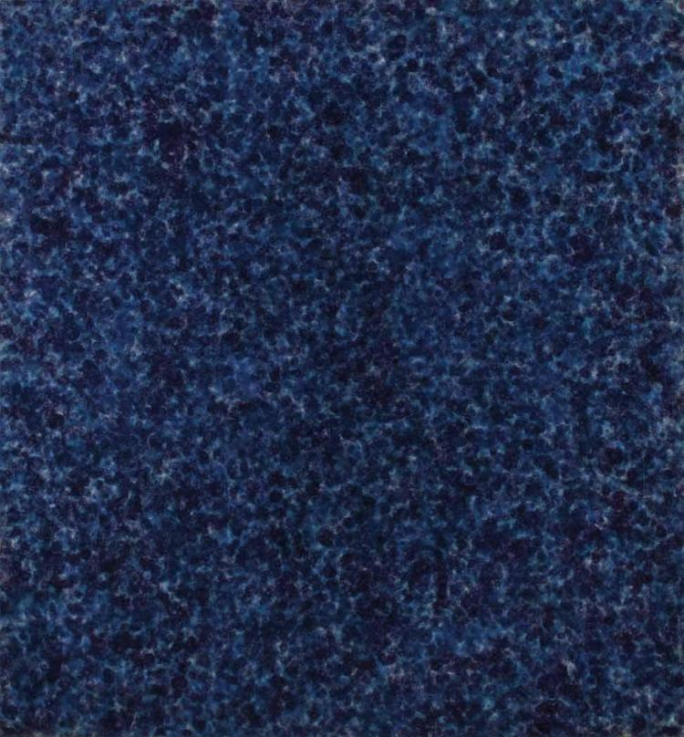 Howard Mehring American, 1931-1978 All Blue, circa 1969