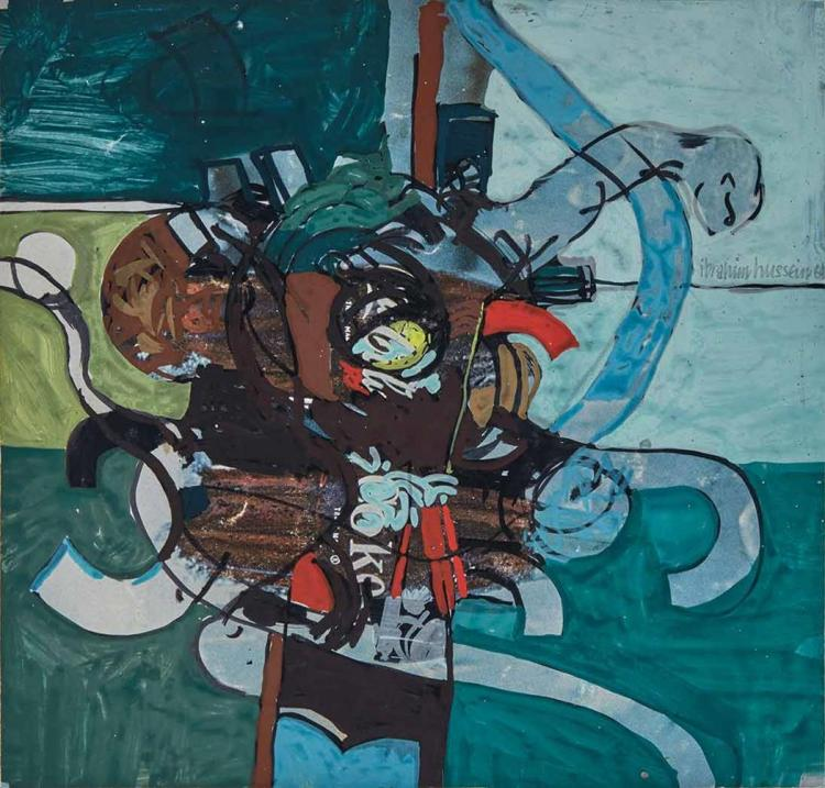 Ibrahim Hussein Malaysian, 1936-2009 Untitled, 1964
