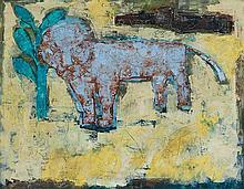 John Altoon American, 1925-1969 Untitled (Lion)
