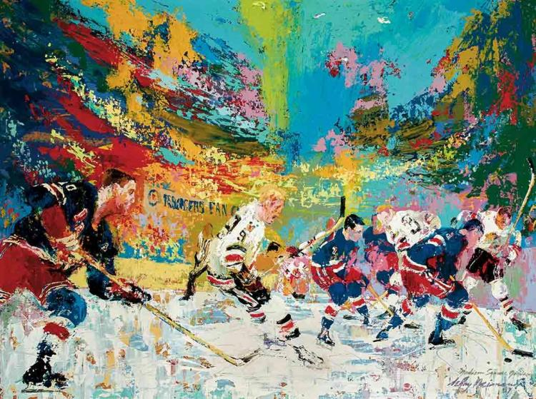 LeRoy Neiman American, 1921-2012 Ice Men, 1967