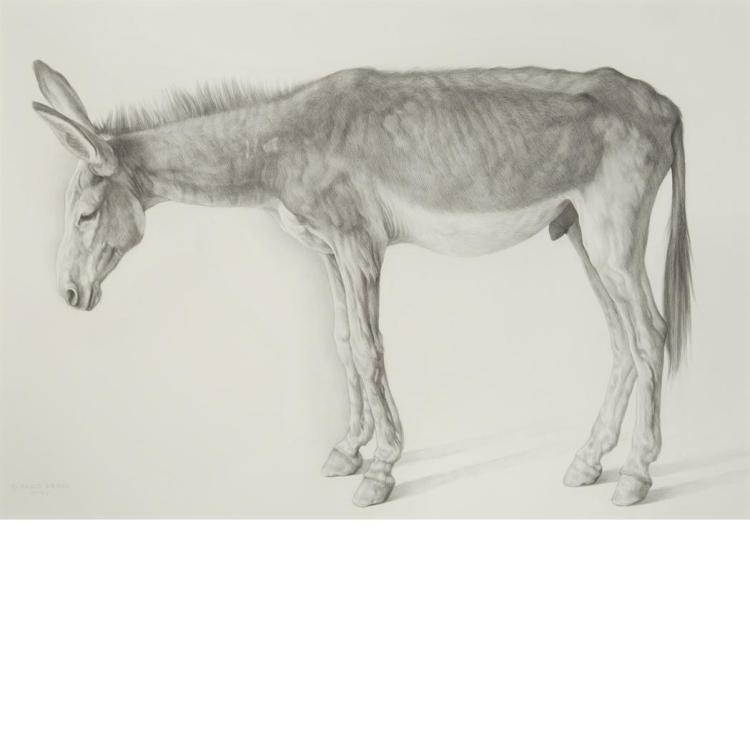 Claudio Bravo Chilean, 1936-2011 Old Donkey, 2005