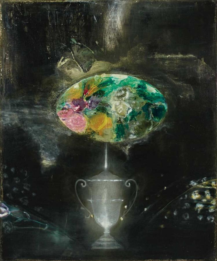 Ross Bleckner American, b. 1949 Anonymous Urn, 1989