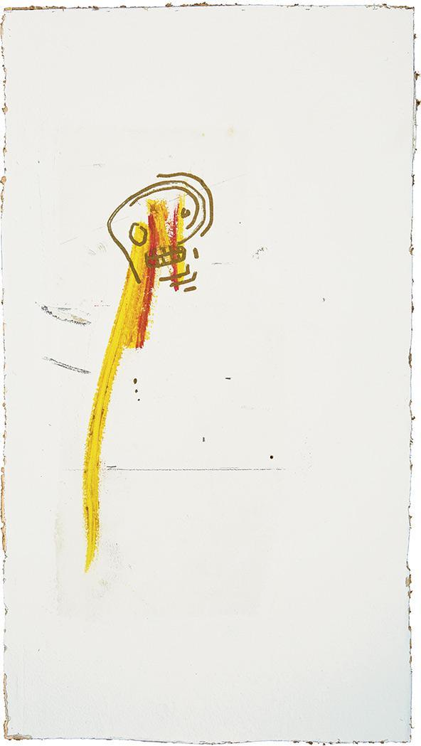Jean-Michel Basquiat American, 1960-1988 Untitled (Skull), circa 1981