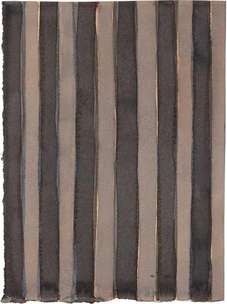 Sean Scully Irish/American, b. 1945 Untitled (double-sided work), 1996