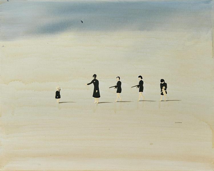 Marcel Dzama Canadian, b. 1974 I Hear a Army, 2004