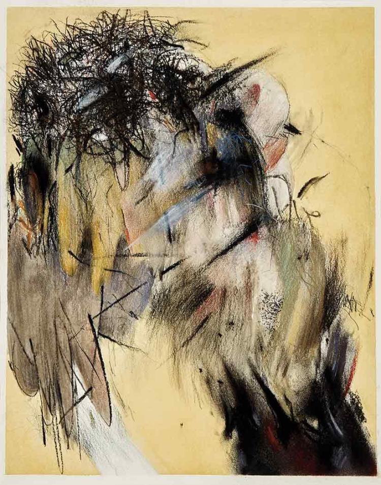 Ahmed Alsoudani Iraqi, b. 1975 Untitled, 2007