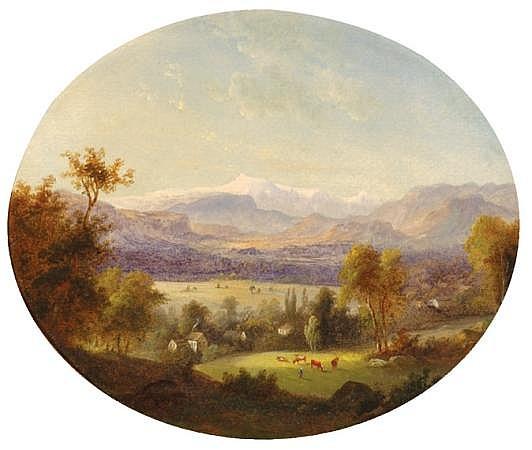 Albertus Del Orient Browere American, 1814-1887 Mount Washington, Conway Meadows