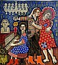 Rex Martin Clawson American, b. 1929 War on Poverty Waltz, Rex Clawson, Click for value
