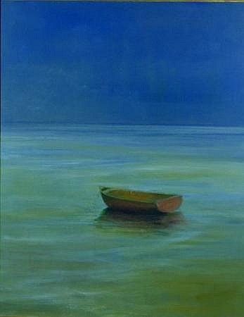Anne Packard b.1933 RED DORY