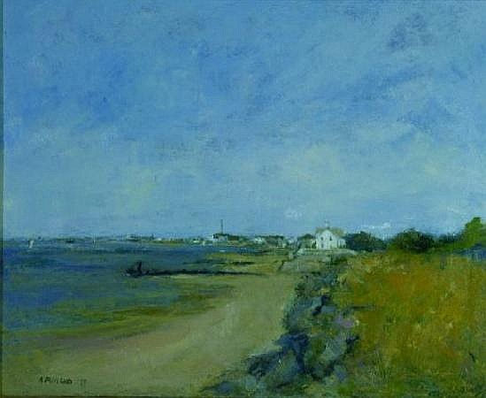 Anne Packard b.1933 PROVINCETOWN VIEW