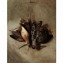 Richard La Barre Goodwin American, 1840-1910 A Brace of Woodcock