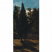 Elihu Vedder American, 1836-1923 (i) At George Langs, Boston