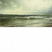 William Trost Richards American, 1833-1905 The Rising Tide, 1892