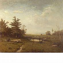 Alexander Helwig Wyant American, 1836-1892 In the Berkshires, Massachusetts