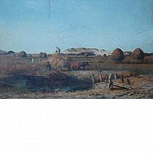 Winckworth Allan Gay American, 1821-1910 Great Marshes, West Barnstable