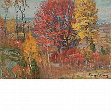 John Joseph Enneking American, 1841-1916 Autumn Tints