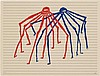 Louise Bourgeois JITTERBUGGING SPIDERS Color lithograph, Louise Bourgeois, $2,000