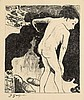 Paul Gauguin BAIGNEUSES BRETONNES Lithograph, Paul Gauguin, $600