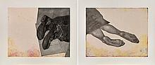 Kiki Smith STILL; HOME Two color aquatints, soft-ground etchings and drypoints, 2006, unframed