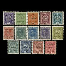 Austria Issued Under Italian Occupation Overprints