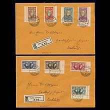 Liechtenstein 1928 Prince Johann II Scott 82-89 Zumstein 72-29