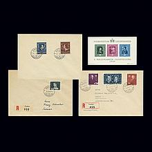 Liechtenstein Select Group 1943 to 1949