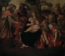 Italian School 16th Century The Adoration of the Magi