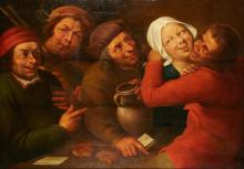 Attributed to Jan Metsys A Merry Company