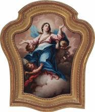 Lorenzo Masucci Italian, d. 1785 The Assumption of the Virgin