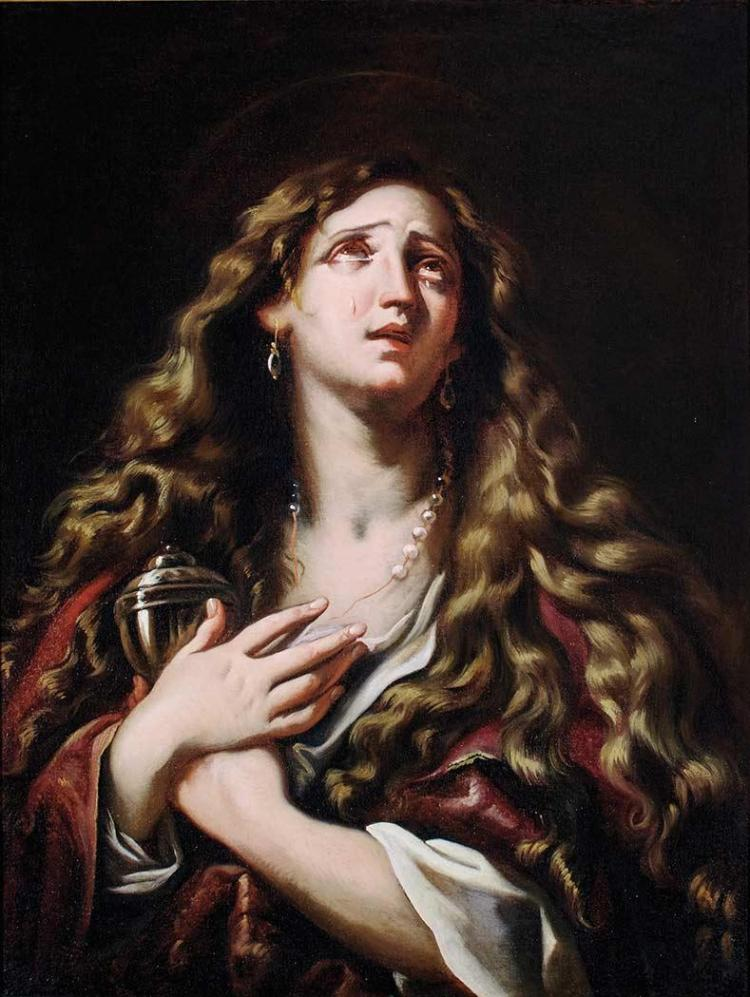 Attributed to Giovanni Battista Beinaschi The Penitent Magdalene