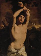 After Guido Reni Italian, 17th Century Saint Sebastian