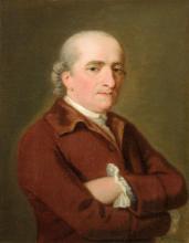 English School 18th Century Portrait of a Gentleman said to be William Sandeman