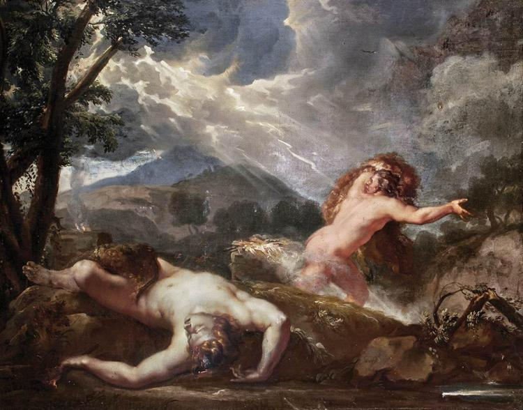French School 18th/19th Century Cain and Abel