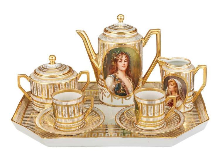 Dresden Porcelain Tete-a-Tete