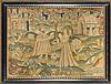 Charles II Needlework Picture