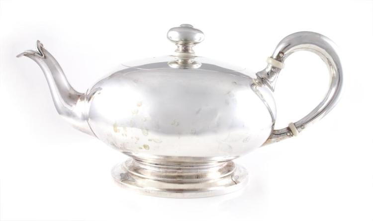 Austrian Silver Teapot
