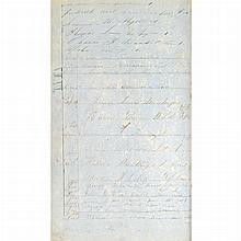 [SHIP LOG] Log book (partial) of the Barque Mars for 1858-1863.