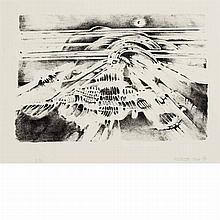 Lee Bontecou TWELFTH STONE Lithograph