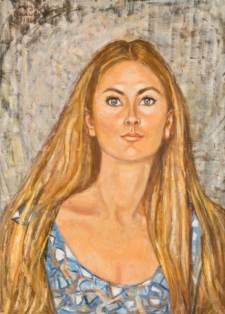 Magdalena Radulescu Romanian, 1902-1983 Portrait of Dorothy Lewis