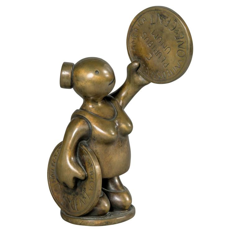 Tom Otterness American, b. 1952 Untitled, 2000