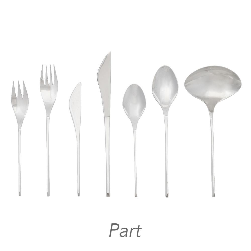 Ronald Hayes Pearson for International Sterling Silver Vision Pattern Flatware Service