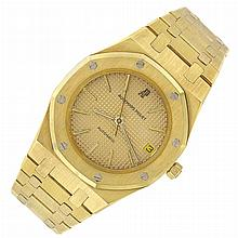 Gentleman's Gold 'Royal Oak' Wristwatch, Audemars Piguet