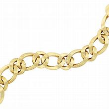 Gold Link Bracelet, Boucheron, France
