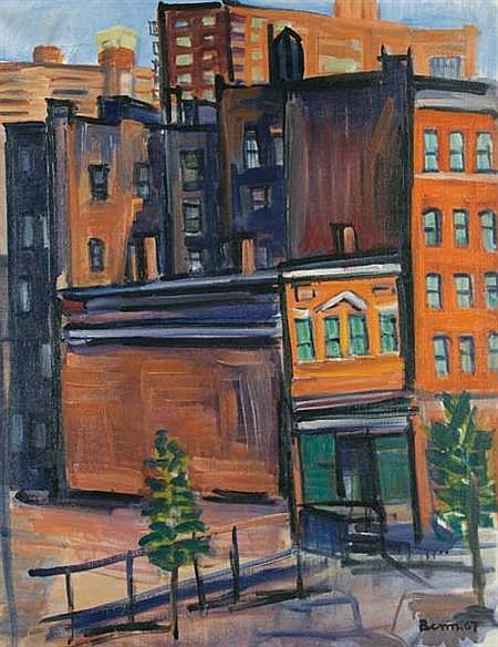Ben Benn American, 1884-1983 From My Window, 1967